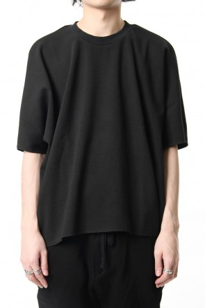 CLANE HOMME19SSTHERMAL OVERSIZE T/S Black
