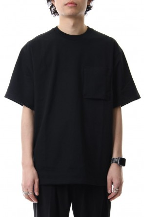 CLANE HOMME 19SS POCKET T/S Black
