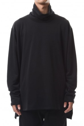 CLANE HOMME 19-20AW TURTLE NECK TOPS Black