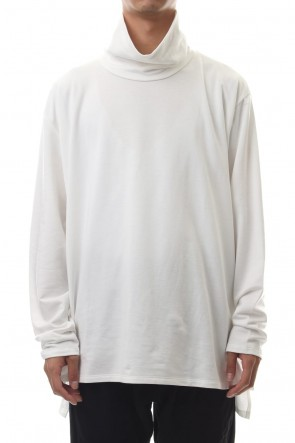 CLANE HOMME 19-20AW TURTLE NECK TOPS White