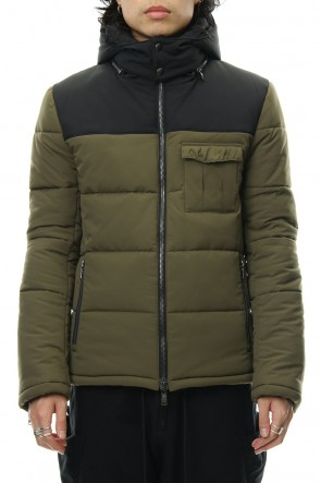 wjk 18-19AW Zip Hooded Shrape - Khaki