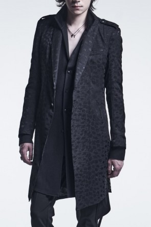 kiryuyrik 21-22AW Epoulet Long Jacket Black