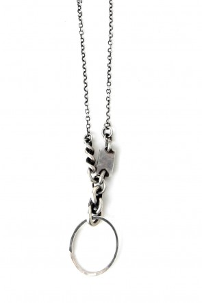 Necklace Mix + Keyring-Silver-Free