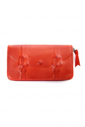 MIHARAYASUHIRO Classic Invisible Long Wallet Red