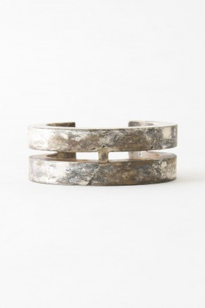 Parts of Four 17-18AW Crescent Crevice Bracelet SUAG 30mm