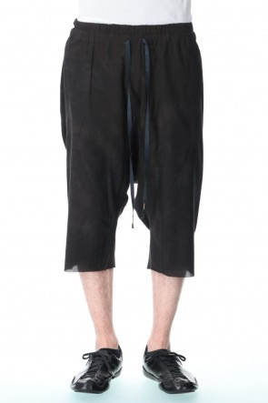 individual sentiments 21SS UNISEX WOVEN WIDE EASY SHORT PANTS