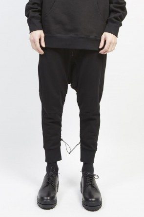 GalaabenD 19-20AW Middle fleece surrouel pants Black