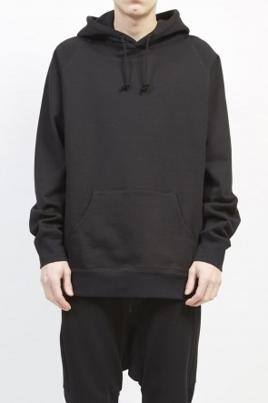 GalaabenD 19-20AW Middle fleece hoodie Black