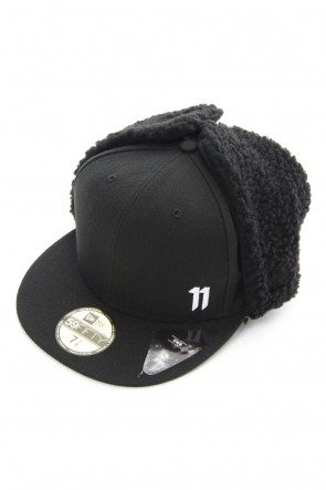 11 BY BORIS BIDJAN SABERI 20-21AW 11 by BBS×New Era  - 59 FIFTY DOG EAR CAP