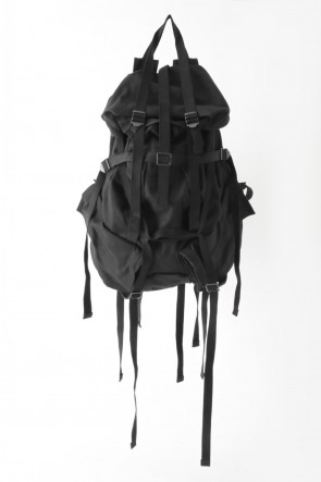 STRAPPED MILITARY BACKPACK