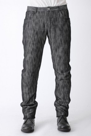 individual sentiments 14SS 5 Pocket Pants Slub Yarn Tweed