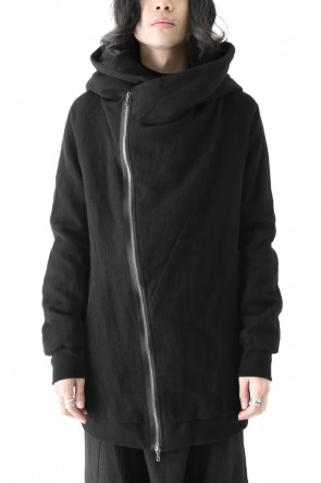 JULIUS 18PS GEOMETRIC HOODED JACKET