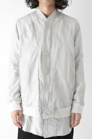 JULIUS 18PS SEAMED BOMBER JACKET