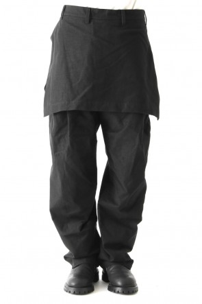 JULIUS18PSATTACHED SKIRT BUGGY TROUSERS
