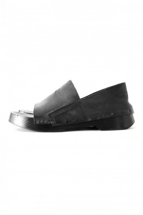 JULIUS 18SS GETA SANDALS - JULIUS