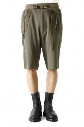 JULIUS 18SS WEBBING EASY SHORT PANTS - JULIUS