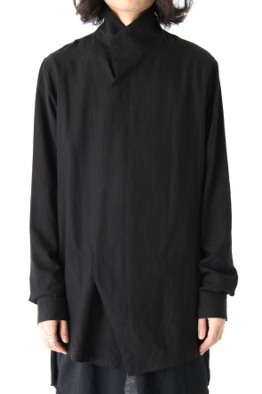 JULIUS 18PF High Neck Shirt