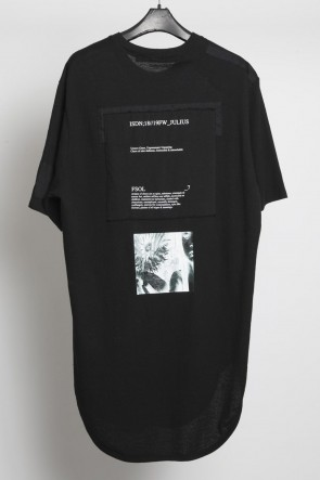 JULIUS 18-19AW Patch T-shirt Ver.2