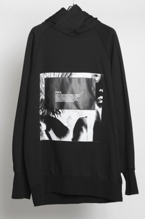 JULIUS 18-19AW Cotton Sweat Print Hoodie