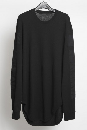 JULIUS 18-19AW Patch Long SleeveT-shirt Ver.1