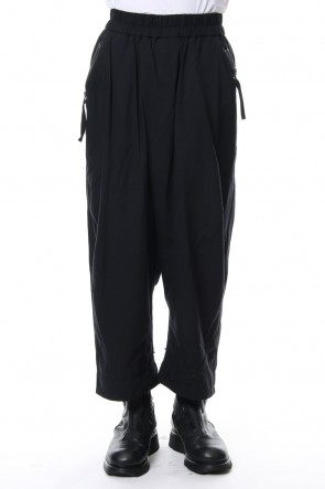 JULIUS 18-19AW Cropped Buggy Pants