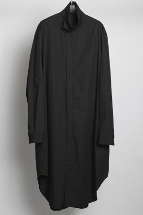 JULIUS 18-19AW Covered Neck Long Shirt