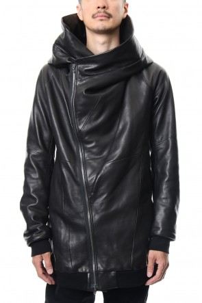 JULIUS 19PS SEAMED HOODED JACKET