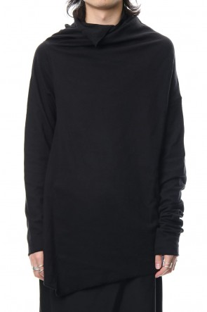 JULIUS 19PS DRAPING NECK CUT & SEWN