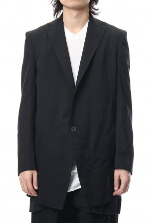 JULIUS 19PS TAILORED JACKET Black