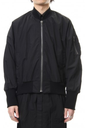 JULIUS 19SS MA-1 JACKET Black