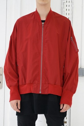 JULIUS 19SS MA-1 JACKET Red