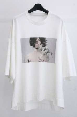 JULIUS 19SS PRINT T-SHIRT Off