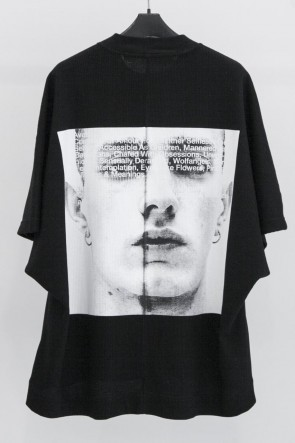 JULIUS 19SS PRINT KITE T-SHIRT