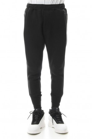 NILøS 19SS SIDE SLASH TRACK PANTS Black
