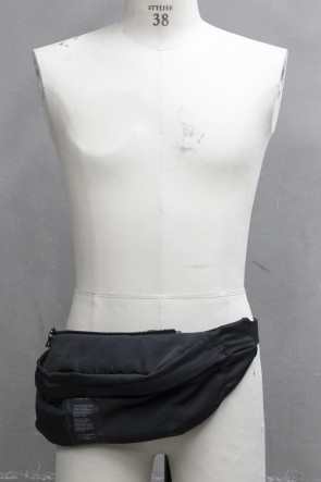JULIUS 19PF COMBINATION WAIST BAG Black