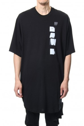 JULIUS 19PF DAWN BIG T-SHIRT Black