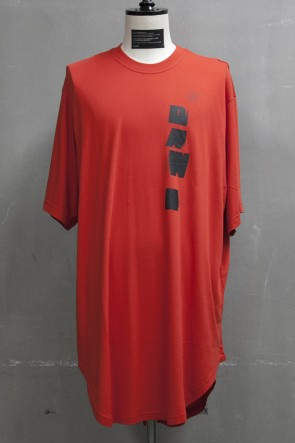 JULIUS 19PF DAWN BIG T-SHIRT Orange