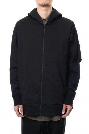 JULIUS 19PF COMBINATION PARKA Black
