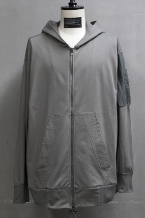 JULIUS 19PF COMBINATION PARKA Gray