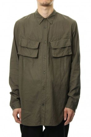 JULIUS 19PF MILITARY SHIRT Khaki