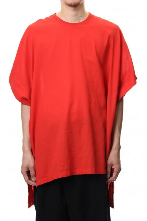 JULIUS 19PF PONCHO Orange