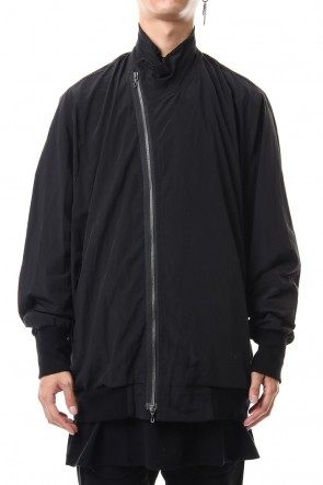 JULIUS 19-20AW COVERD NECK JACKET