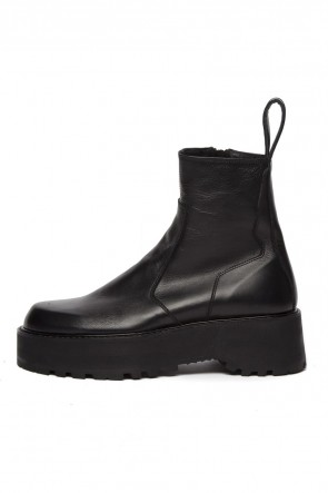 JULIUS 19-20AW SIDE ZIP ENGINEER BOOTS