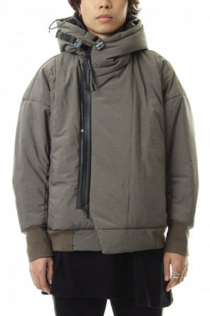 NILøS 19-20AW FIXED PADDING HOODED JACKET Dust