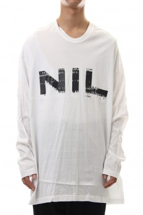 NILøS 19-20AW NIL LONG SLEEVE SHIRT White
