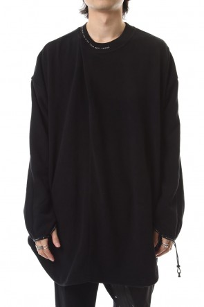NILøS 19-20AW TUCKED OVERSHIRT Black