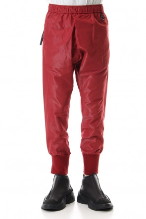 NILøS 19-20AW TUCKED TRACK PANTS Red