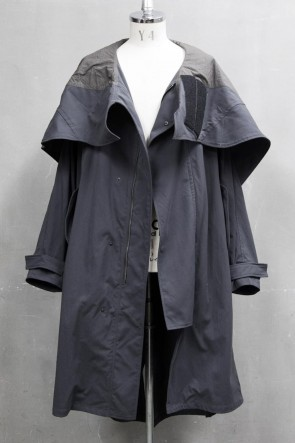 JULIUS 20PS MODS COAT Charcoal