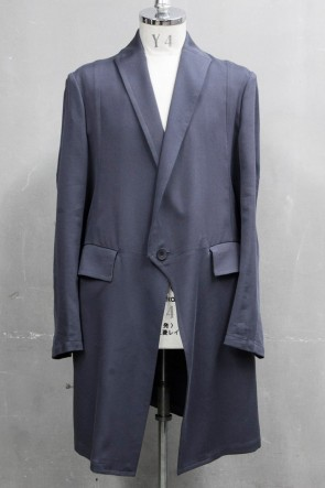 JULIUS 20PS LOZENGE COLLAR TAILORED JACKET Blue Gray