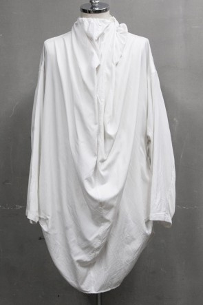 JULIUS 20PS DRAPE NECK SHIRT Off